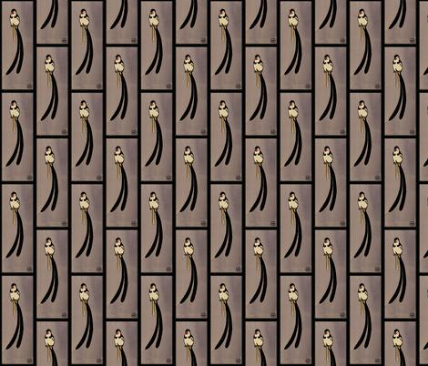 Long_Tailed_Bird fabric by zephyrus_books on Spoonflower - custom fabric