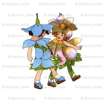Flower Child (Children's Book) Anemones and Bluets