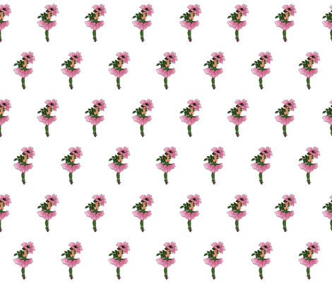 Flower Child (Children's Book) Briar-Rose fabric by zephyrus_books on Spoonflower - custom fabric