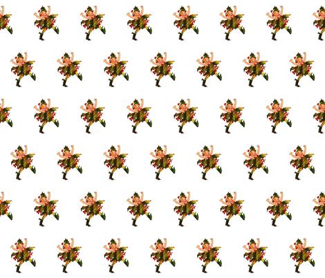 Flower Child (Children's Book) Holly fabric by zephyrus_books on Spoonflower - custom fabric