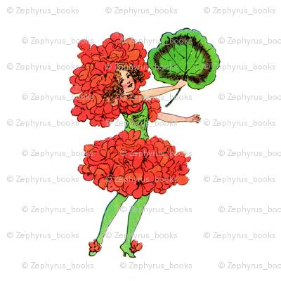 Flower Child (Children's Book) Geranium