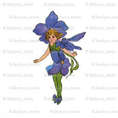 Flower Child (Children's Book) Johnnie Jump-Up