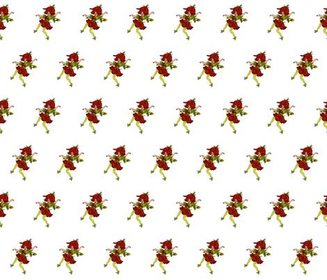 Flower Child (Children's Book) Jack Rose fabric by zephyrus_books on Spoonflower - custom fabric