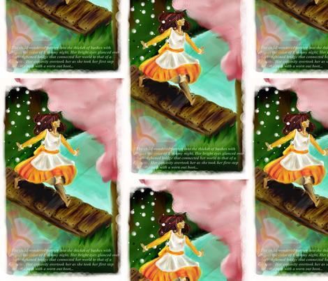 Skip_Girly fabric by kerawolf on Spoonflower - custom fabric