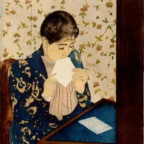 Mary Cassatt's The Letter 1891