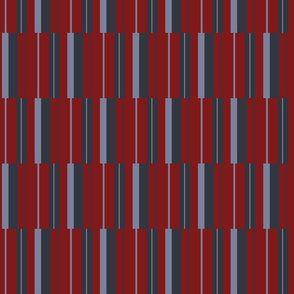Stripey (Coordinate to dark red Hexy)