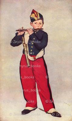 Edouard Manet's The Fifer 1896