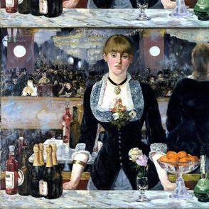 Edouard Manet's Le Bar aux Folies-Bergère 1882