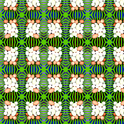 A Tisket a Tasket of Eggs  fabric by robin_rice on Spoonflower - custom fabric