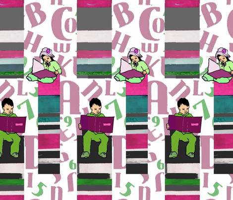 readers fabric by dc_stomper on Spoonflower - custom fabric