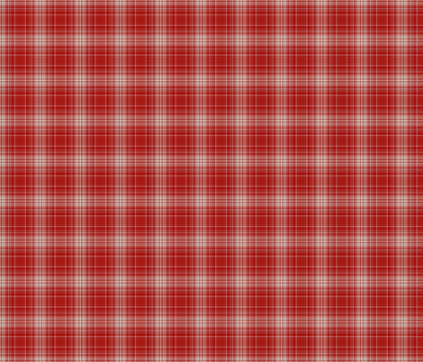 Red and White Plaid fabric by zephyrus_books on Spoonflower - custom fabric