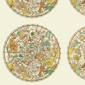 Astronomy Zodiac Constellation Star Map