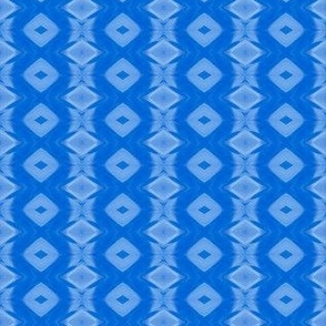 True Blue Diamond Stripe