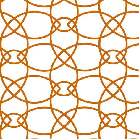 Petals Orange Reverse fabric by alicia_vance on Spoonflower - custom fabric
