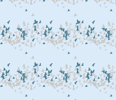 Beachside Birds fabric by creative_merritt on Spoonflower - custom fabric