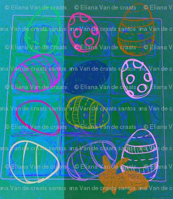 Happy Easter Blue  by evandecraats, march 31, 2012