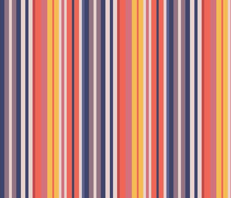 Sunset Beach Stripes fabric by creative_merritt on Spoonflower - custom fabric