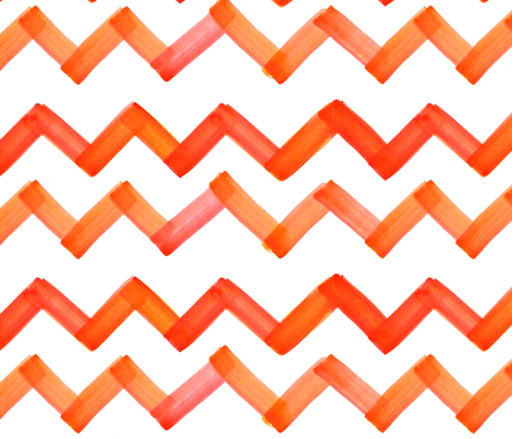 cestlaviv_oranger18nologo_copy fabric by cest_la_viv on Spoonflower - custom fabric
