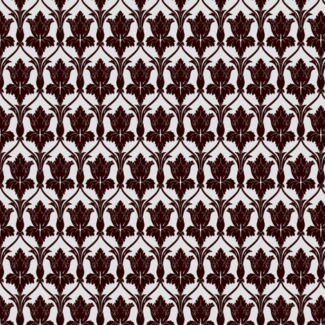 Sherlock Wallpaper pattern fabric by haircurl on Spoonflower - custom fabric