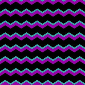 chevron_purple_teal_black