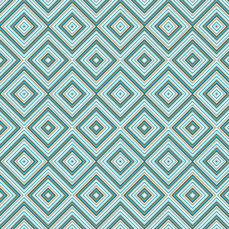 chevron_12_blues_brown fabric by marcojanedesigns on Spoonflower - custom fabric