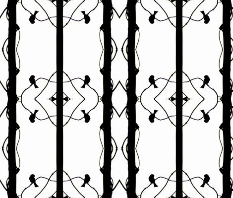 BirdFlip fabric by sharpestudiosdesigns on Spoonflower - custom fabric