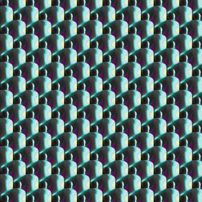 blue black purple design scales