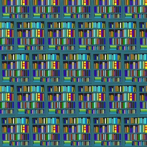 Nutshell Library fabric by boris_thumbkin on Spoonflower - custom fabric
