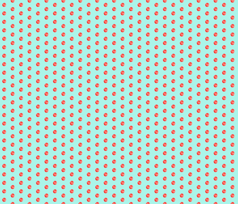 Texas Modern Dot Aqua fabric by jacinda on Spoonflower - custom fabric