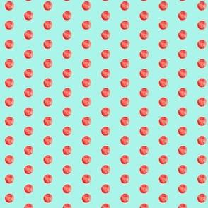 Texas Modern Dot Aqua