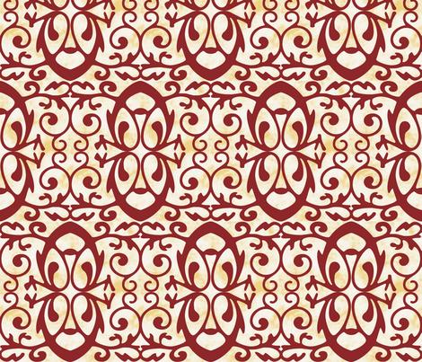 enter the dragon fabric by keweenawchris on Spoonflower - custom fabric
