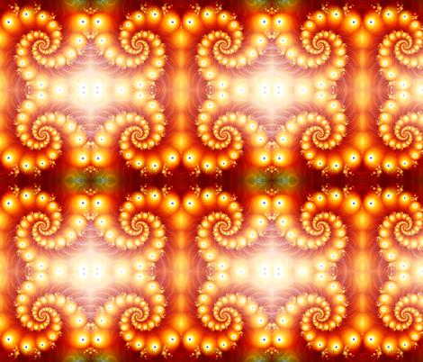 Mock Magma  fabric by glanoramay on Spoonflower - custom fabric