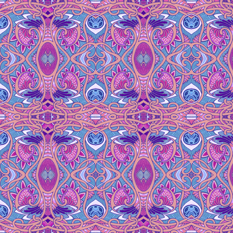 Sophisticated Baby Paisley fabric by edsel2084 on Spoonflower - custom fabric