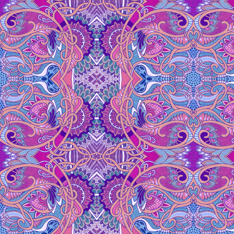 Paisley For Baby fabric by edsel2084 on Spoonflower - custom fabric