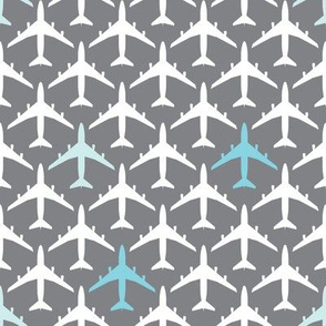 Vertical Blue Planes