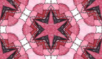 Parvati's Star Cushion