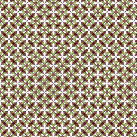 Rosalie's Garden fabric by siya on Spoonflower - custom fabric