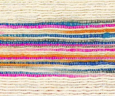 Striped Khadi Print