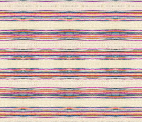 Striped Khadi Print fabric by wiksten on Spoonflower - custom fabric