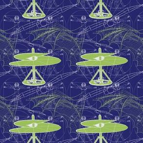 daVinci Fliers (blue-sm)