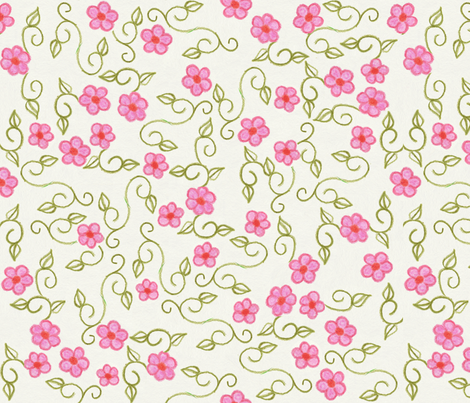 Garden Party Print fabric by cricketswool on Spoonflower - custom fabric