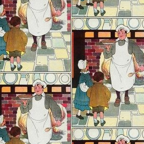 Mother Goose Nursery Rhyme Pat-a-cake, pat-a-cake, Baker's man