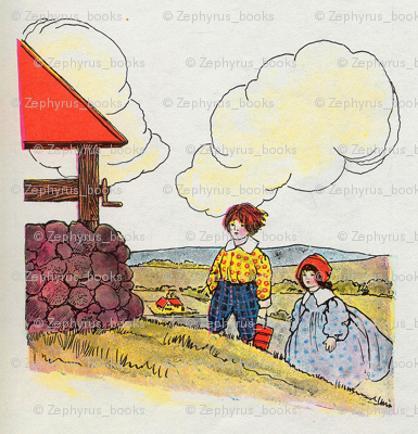 Mother Goose Nursery Rhyme Jack and Jill went up the hill
