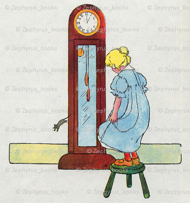 Mother Goose Nursery Rhyme Hickory, dickory, dock! The mouse ran up the clock