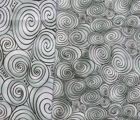 Large Celtic Tri-Spiral Silver