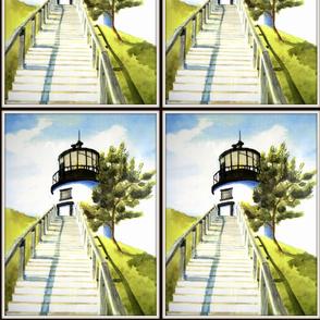 Steps To Owl's Head