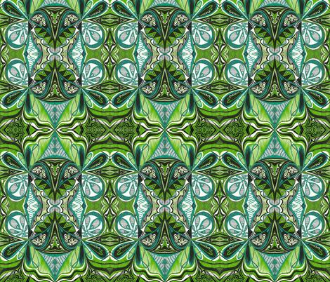 Africangreen fabric by yezarck on Spoonflower - custom fabric