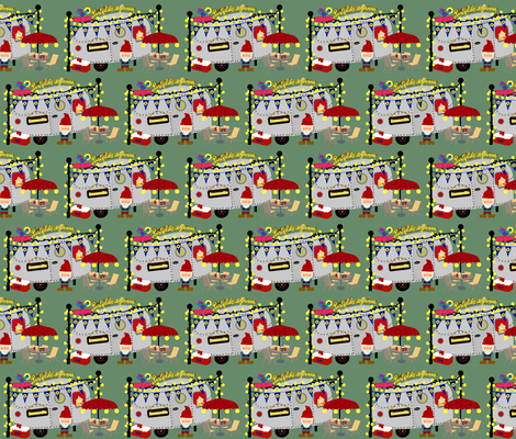 Party like a Gnome / camp fabric by paragonstudios on Spoonflower - custom fabric