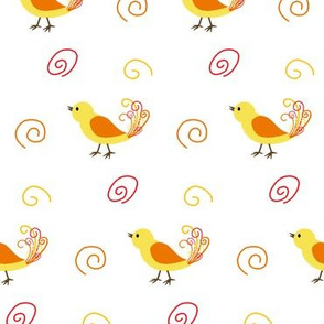 Little Yellow Birds