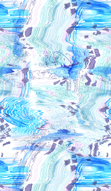 Turbulent - 1 fabric by heytangerine on Spoonflower - custom fabric